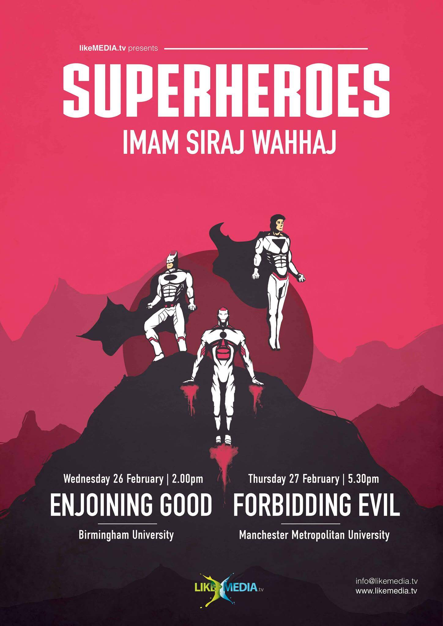 LikeMedia - SUPERHEROES